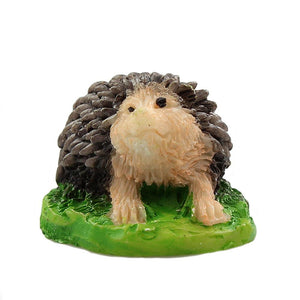 Fairy garden supplies - miniature hedgehog
