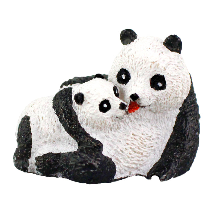 Fairy Garden Miniature Mom & Baby Panda