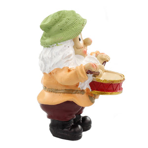 Fairy Garden - Gnome Playing Drums