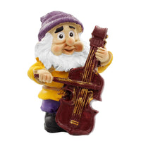 Fairy Garden Gnome - Gnome Playing The Bass