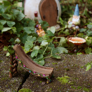 Fairy Garden Miniature Slide