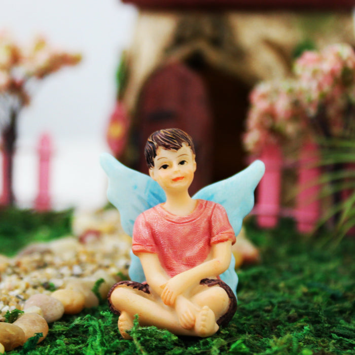 Sitting Boy Fairy - Adam