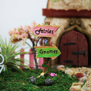 Fairies and Gnomes Sign