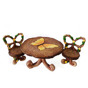 Butterfly Table and 2 Chairs