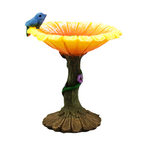 Miniature Flower Bird Bath