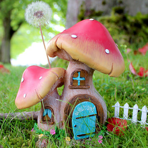 Mini Mushroom House | Optional LED Lights