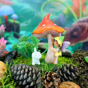 "Fairy Garden ""Hide and Seek"" Figurine"
