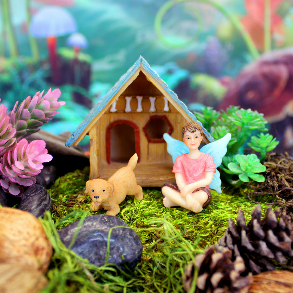"""Boy's Best Friend"" Fairy & Puppy Kit"