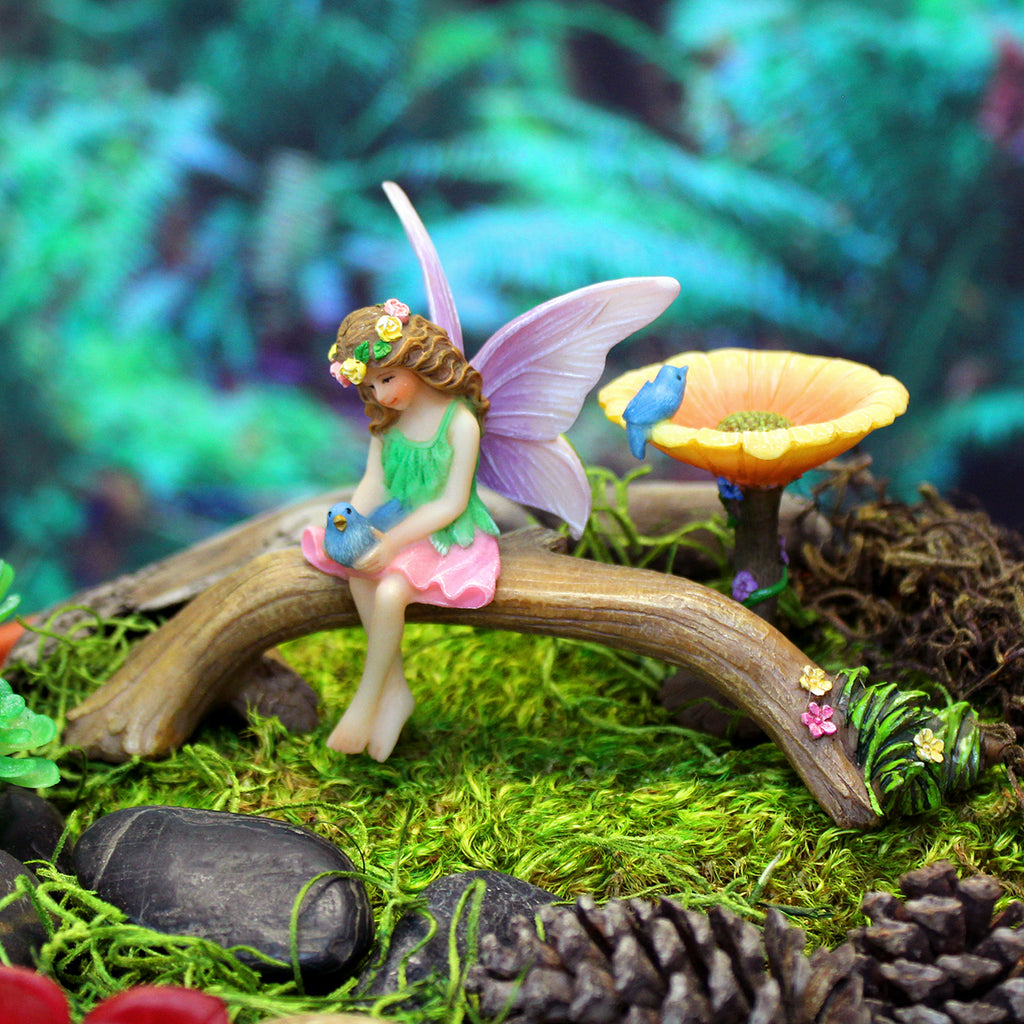 """Bluebirds"" Fairy Garden Kit"