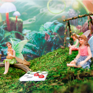 """Magical Playground"" Fairy Garden Kit"