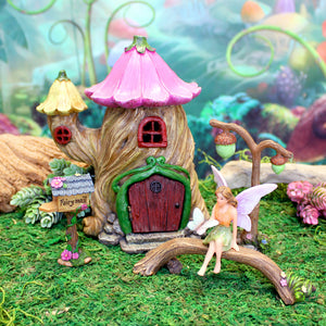 """Enchanted Evening"" Fairy House Kit 