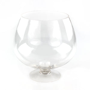 Glass Pedestal Vase