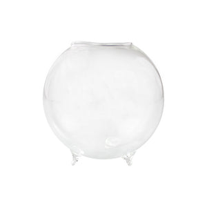 Glass Orb Terrarium With 3 Legs
