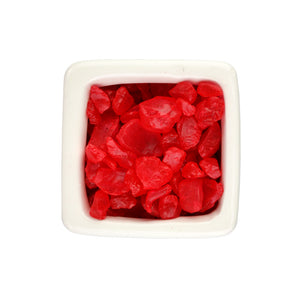 Red Glass Ice Pebbles