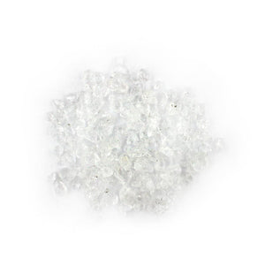 Clear Glass Ice Pebbles