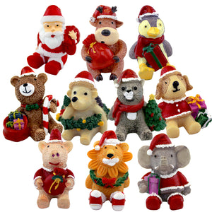 Animal Holiday Accents | 10 Pack