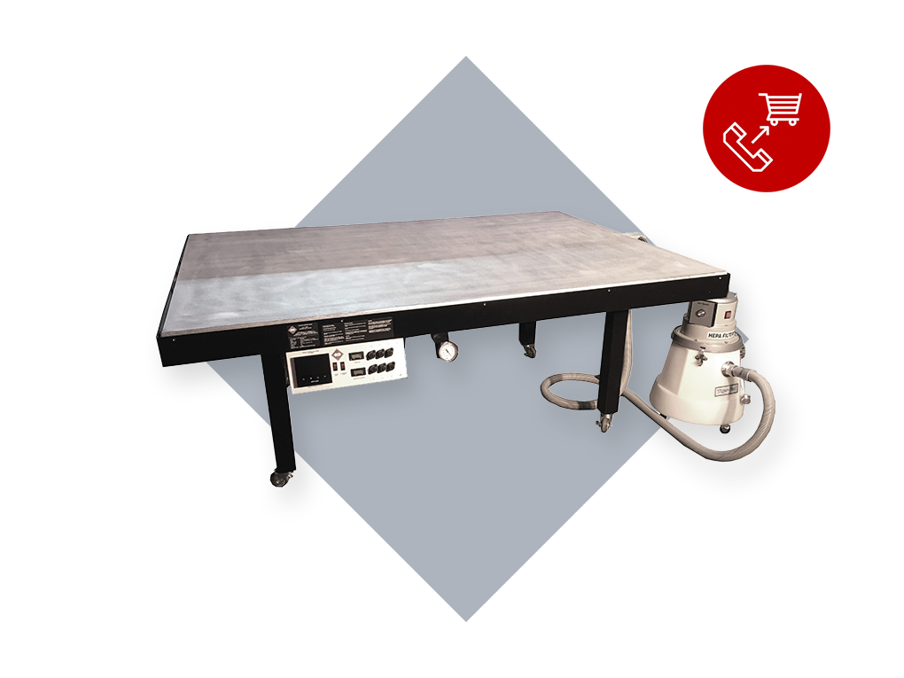 320 Series: Heated Suction Tables (HST)