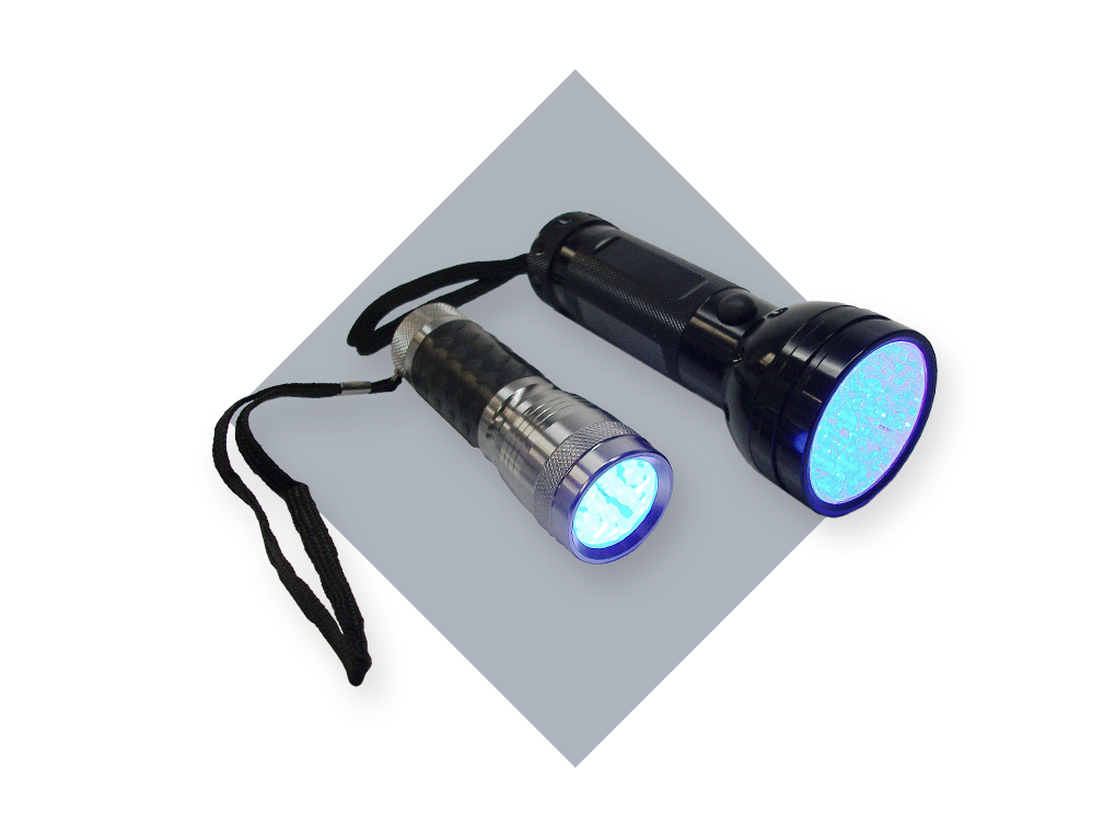 UV LED Blacklight Flashlight