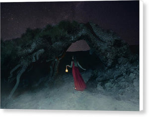 Mysterious Tree - Canvas Print