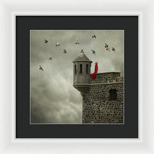 Load image into Gallery viewer, Woman In The Red Dress - Framed Print