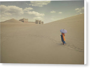 Bedouin Woman - Canvas Print