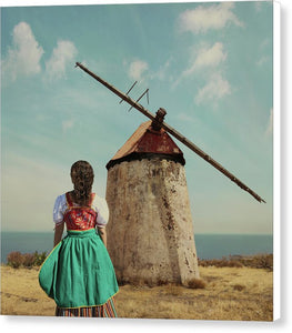 Canarian Peasant Woman  - Canvas Print