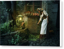 Load image into Gallery viewer, Medieval Night - Canvas Print