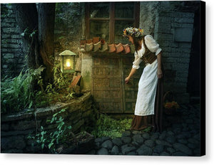 Medieval Night - Canvas Print