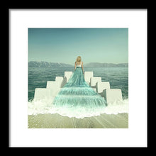 Load image into Gallery viewer, Water Dress - Framed Print