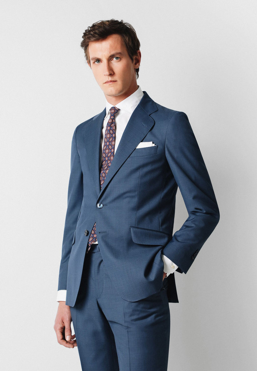 COTTON SLIM FIT SUIT