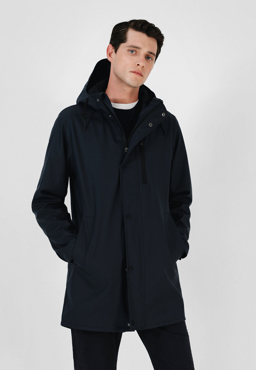 WATERPROOF THREE QUARTER LENGTH COAT