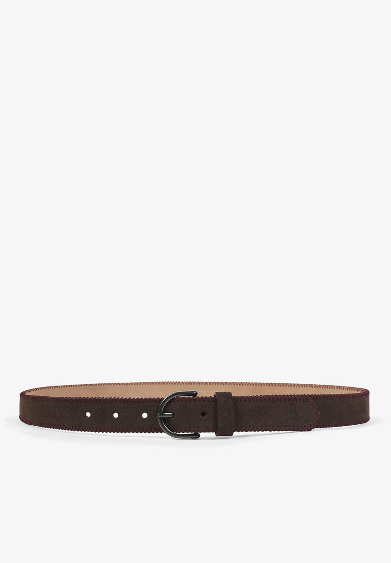 BELT WITH CONTRAST TRIM
