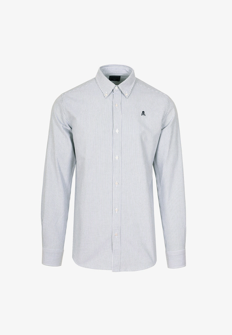 OXFORD SHIRT WITH SKULL
