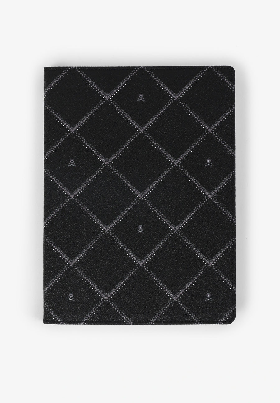 NOTEBOOK WITH METALLIC DIAMONDS