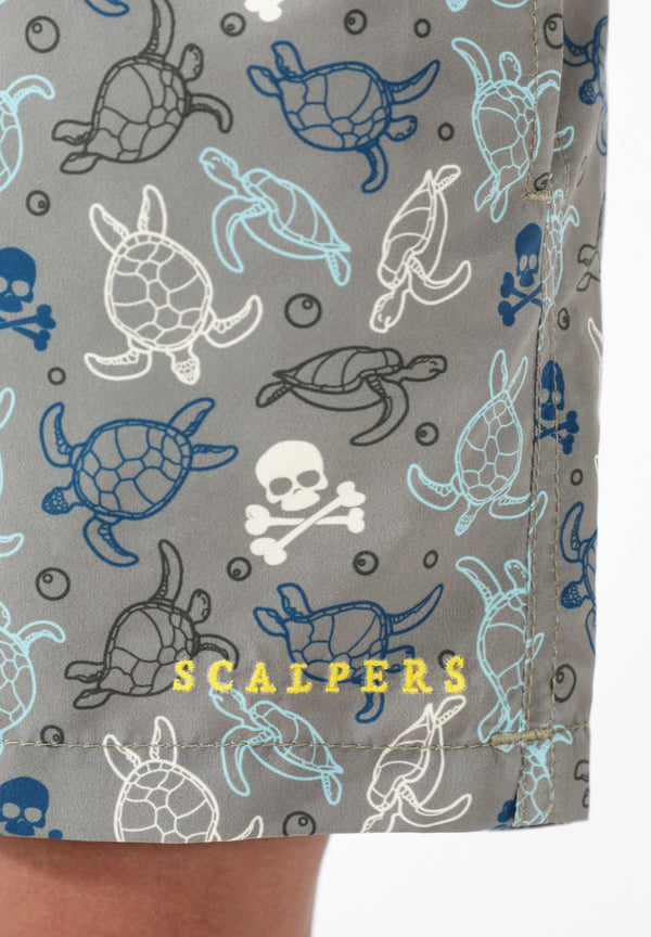 SWIMMING TRUNKS WITH TURTLES
