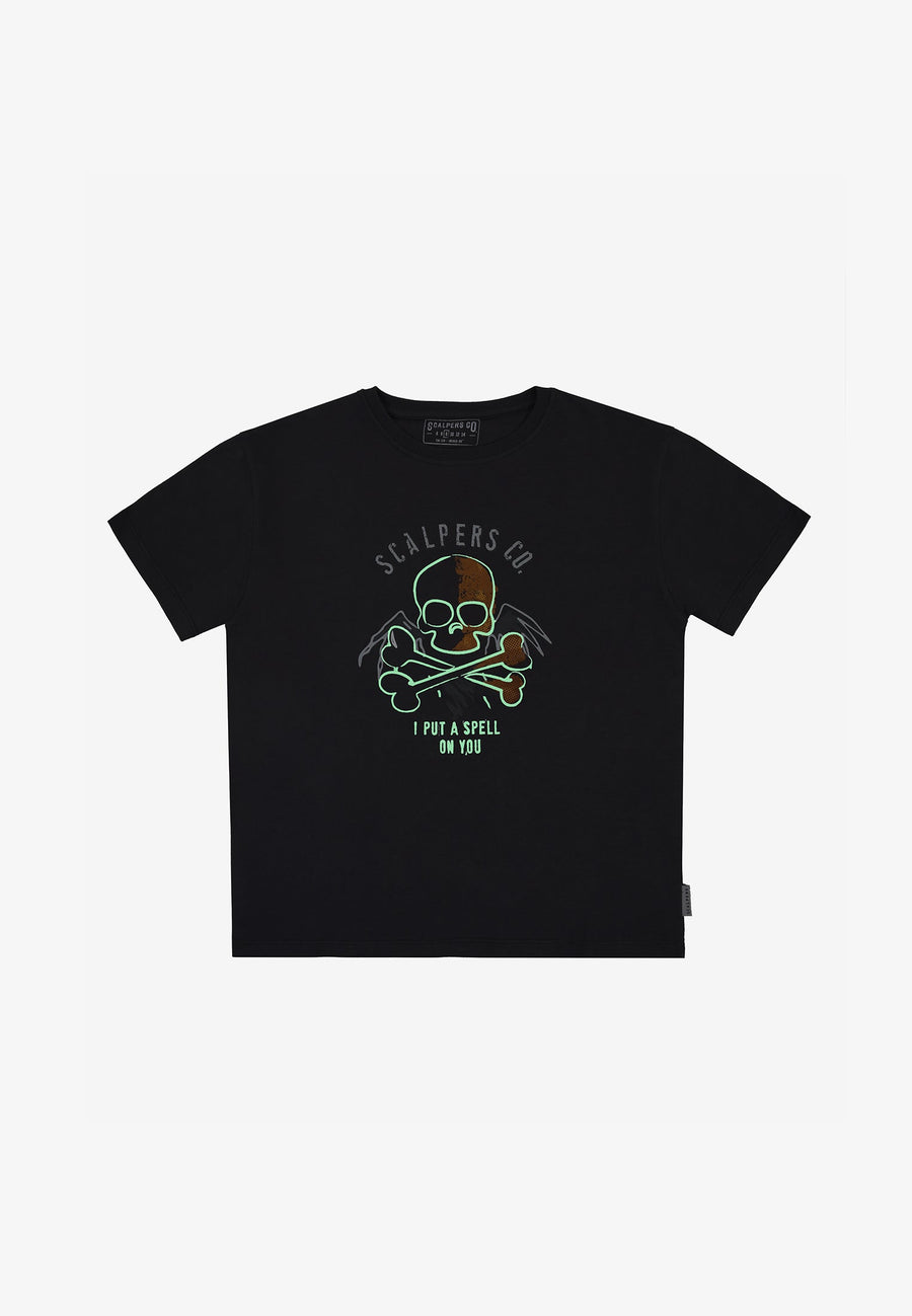 HALLOWEEN PHOSPHORESCENT T-SHIRT