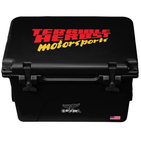 Black 40 Cooler Terrible Herbst Motorsports