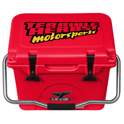 Red 20 Cooler Terrible Herbst Motorsports