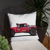 Herbst Trophy Truck  Pillow