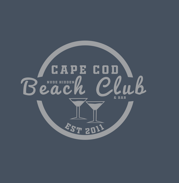 Nude Beach Club Men's Premium Fitted SS V-Neck