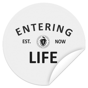 Entering Life Circle Sticker