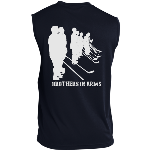 Brothers In Arms Sleeveless Performance T-Shirt