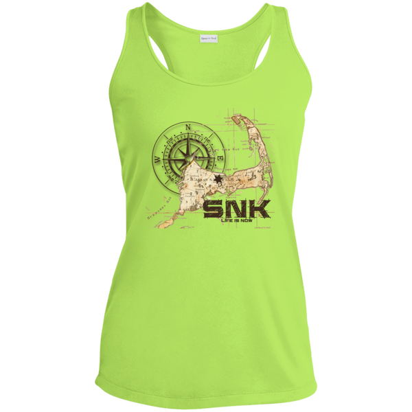 Sandy Neck Ladies' Racerback Moisture Wicking Tank