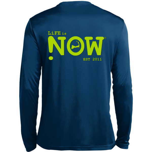 LiFE is NOW Cape Cod LS Wicking T-Shirt