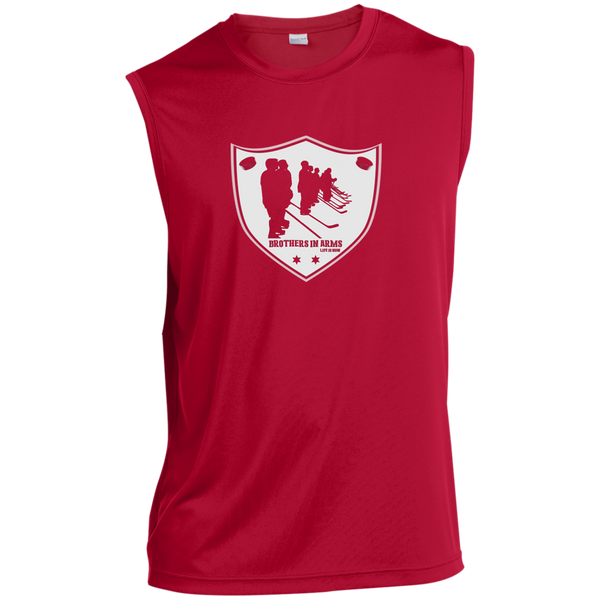 Brothers in Arms Badge Sleeveless Performance T-Shirt