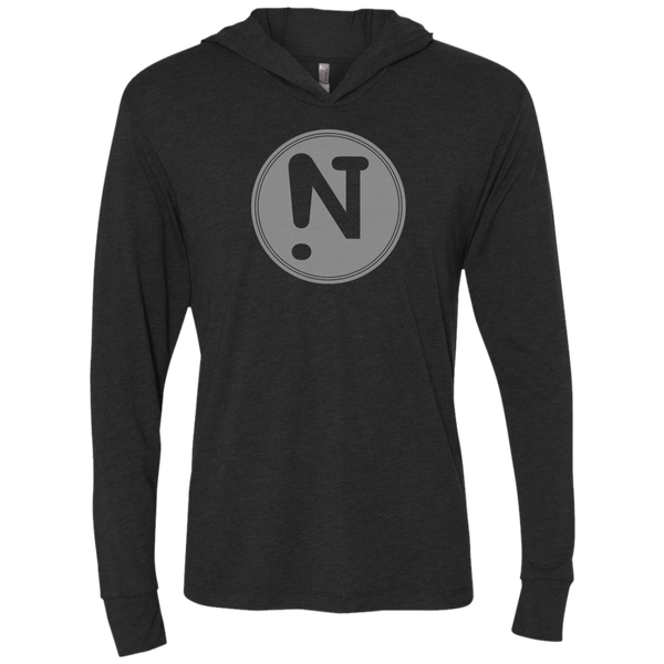 !N Unisex Triblend LS Hooded T-Shirt