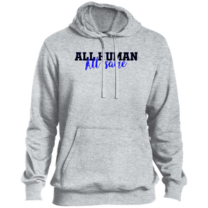 All Human Blue Pullover Hoodie