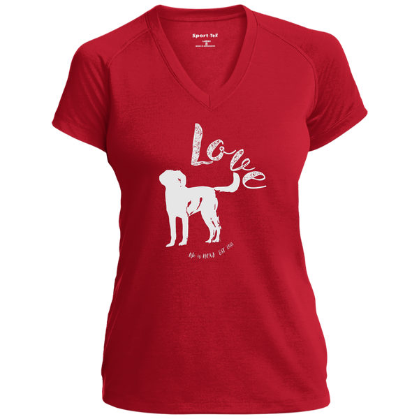 Puppy Love Ladies' Performance T-Shirt