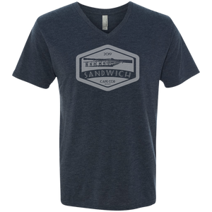 Sandwich Boardwalk Men's Triblend V-Neck T-Shirt