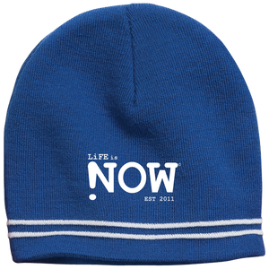 LiFE is NOW Colorblock Beanie